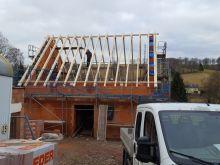 Errichtung Dach EFH