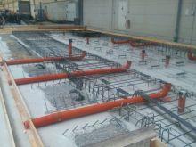 Maschinenfundament Industriebau